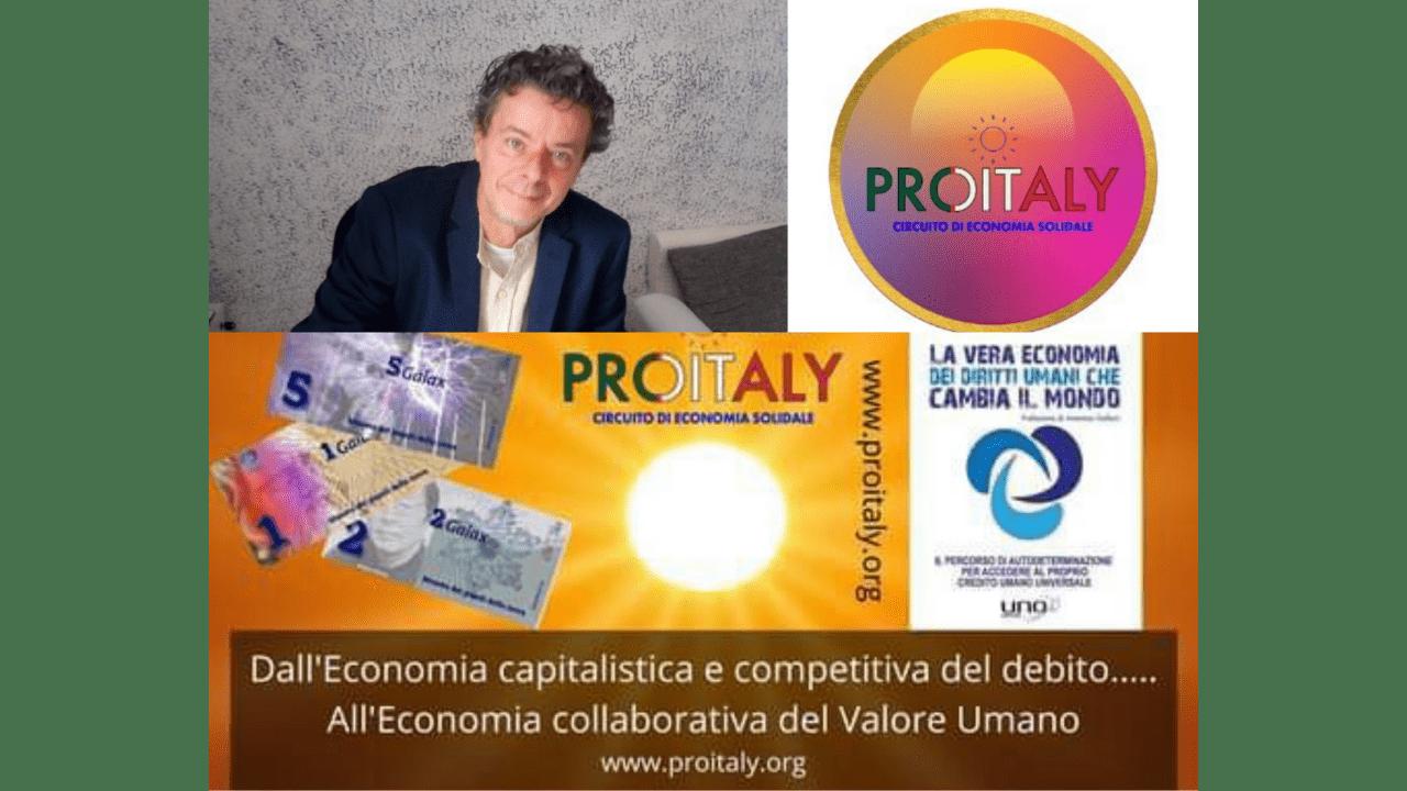 Pierangelo Spazzoli ideatore e realizzatore di PROITALY